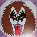 Gene Simmons -The Originals II VIP-5504-6, Pappersmask, 4-färg.