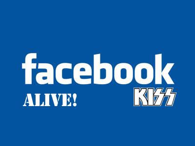 Kiss facebook