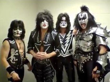 Kiss live på FaceBook