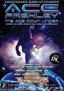 Australia tour poster