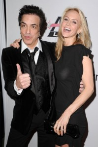 Paul och hustru Erin Sutton