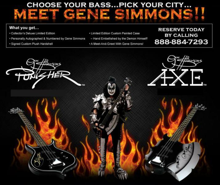 Gene Simmons Bas