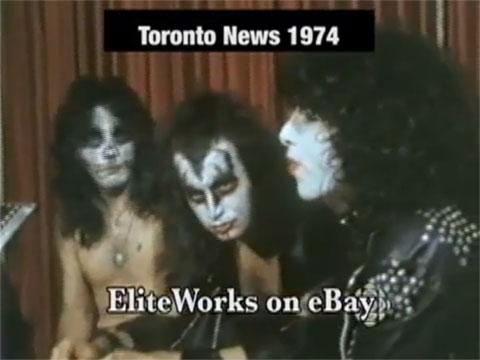 Fredagsmys – Kiss första tv intervju 1974