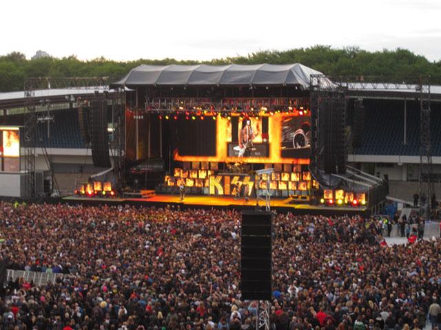 Kiss Malmö stadion 2010 – Foto