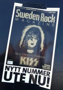 Kiss-special i Sweden Rock Magazine
