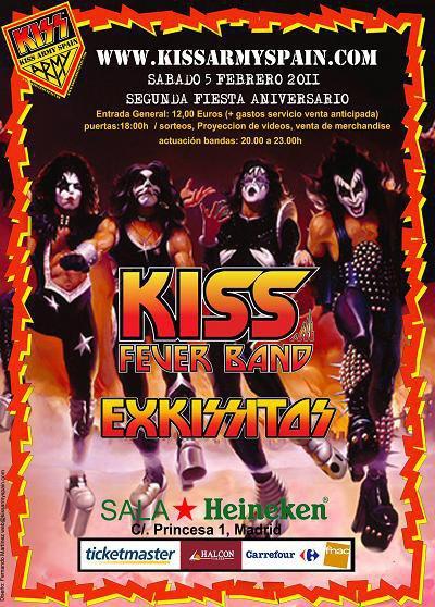 Madrid – Kiss Fan Fest