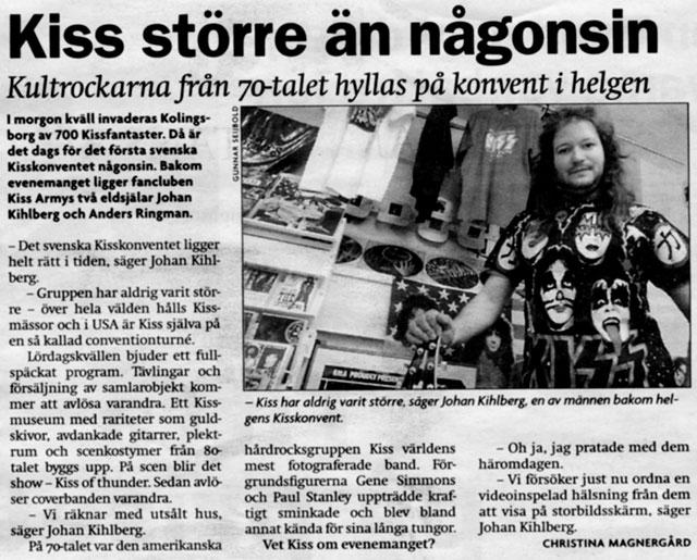Återblick – Sveriges första Kiss Convention någonsin!