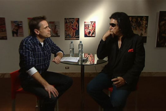 CBC intervjuar Gene Simmons