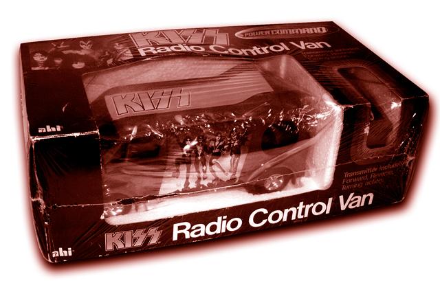 Klassiska Kissprylar – Kiss Radio Control Van