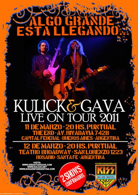 Bruce Kulick i Argentina