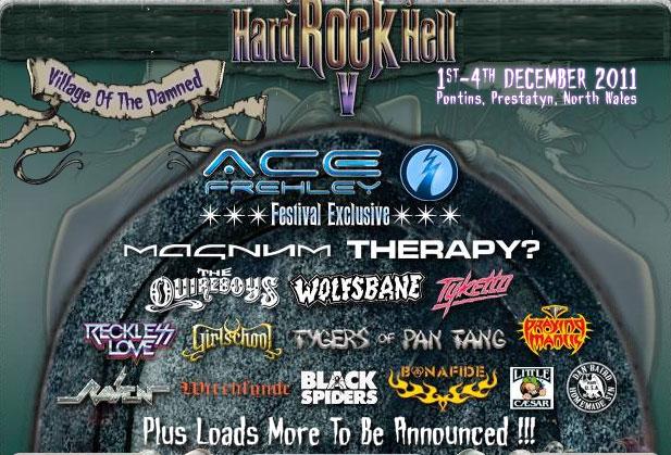 Ace Frehley headliner på Hard Rock Hell