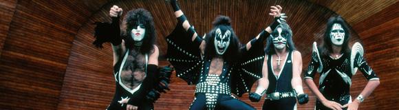 Kiss första Sverigebesök