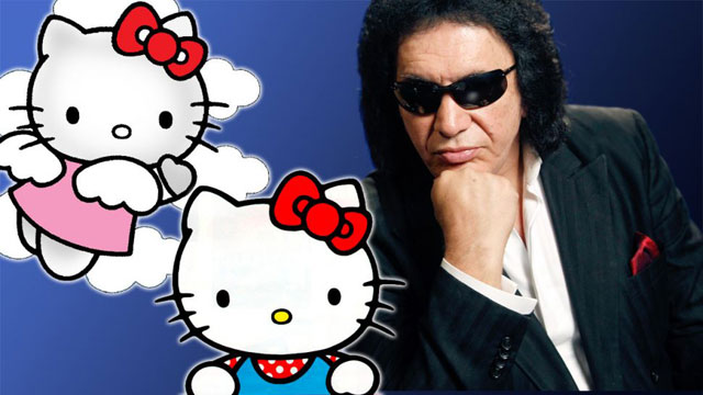 Kiss + Hello Kitty