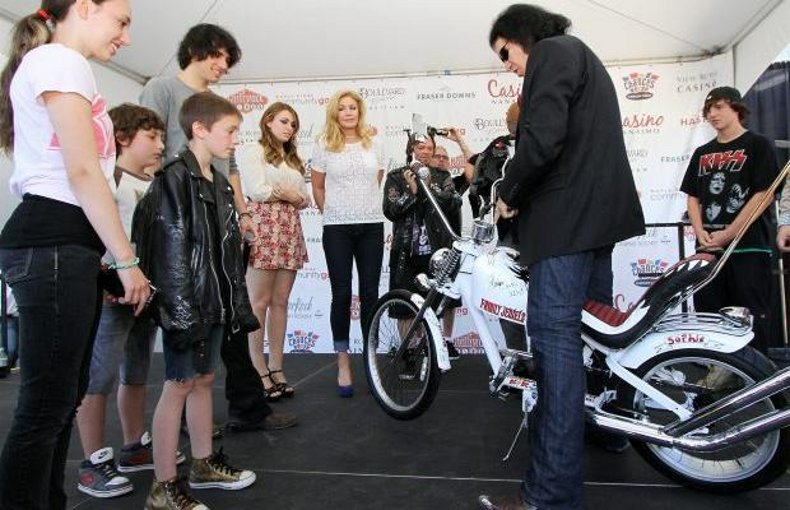 The Gene Simmons meet and greet