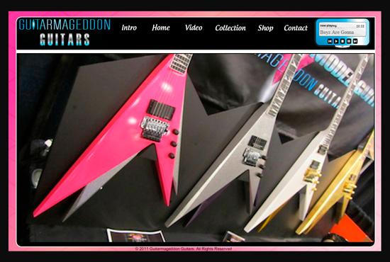 Webbtips – Guitarmageddon Guitars