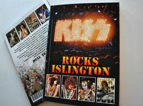 KISS ISLINGTON BOOK