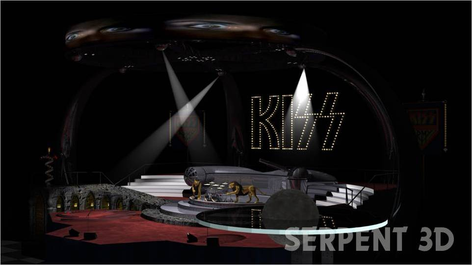 Monster – Kiss Stage Set