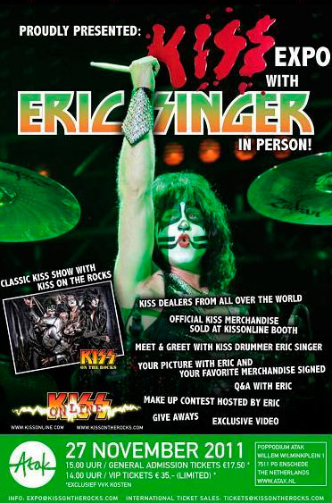 Kiss Expo, Holland – Eric Singer