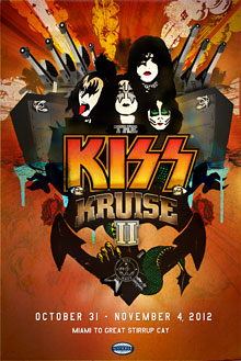 KISS Kruise 2012, biljetterna släpps…