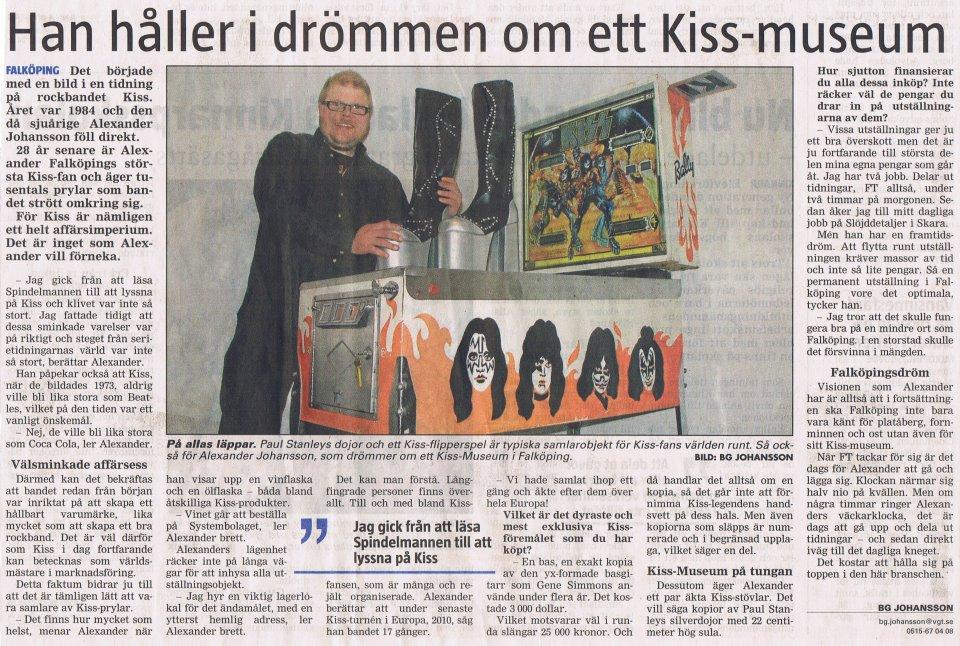 KISS-museum i Falköping?