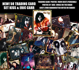 Eric Carr trading cards…
