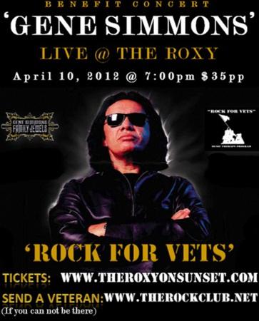 Solo-konsert med Gene Simmons….