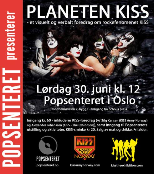 Föredrag om KISS i Oslo…