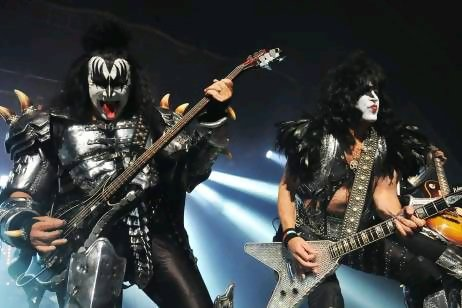 Kiss are still on fire