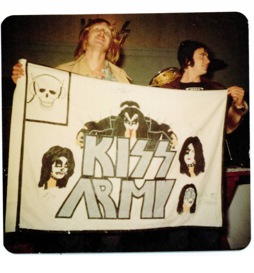 Me and Jay with first KA banner