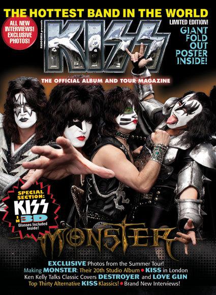 Ny officiell tidning från KISS…