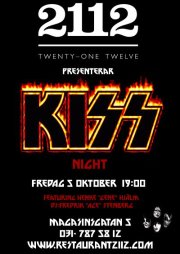 KISS-party i Göteborg…