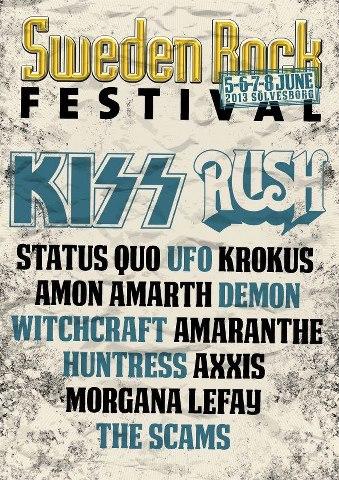 Poster för Sweden Rock Festival..