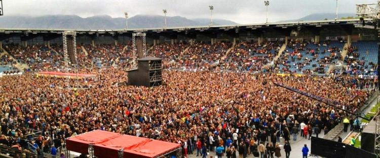Stort intresse i Norge…