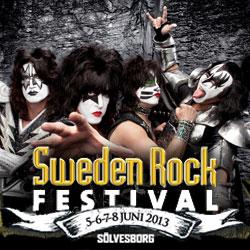 Vi kommer till Sweden Rock Festival…