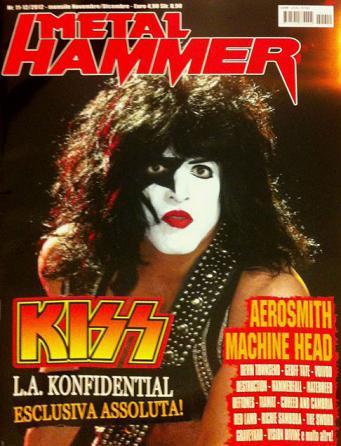 Senaste med KISS på omslaget…