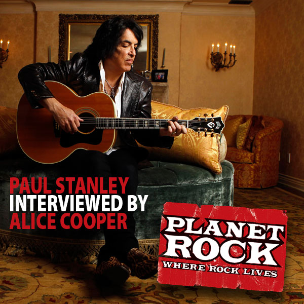Alice Cooper intervjuar Paul Stanley