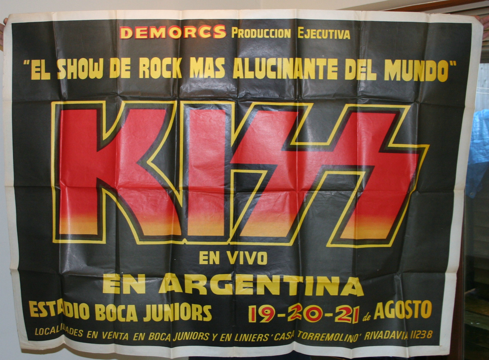 Argentina Poster 1983