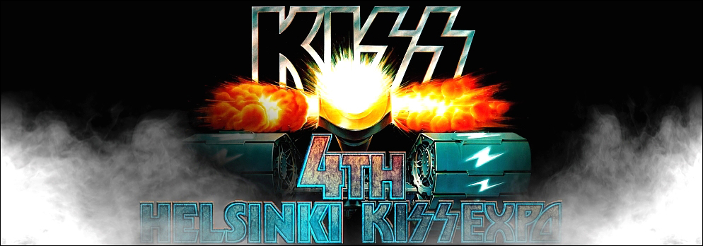KISS Expo i Helsingfors…
