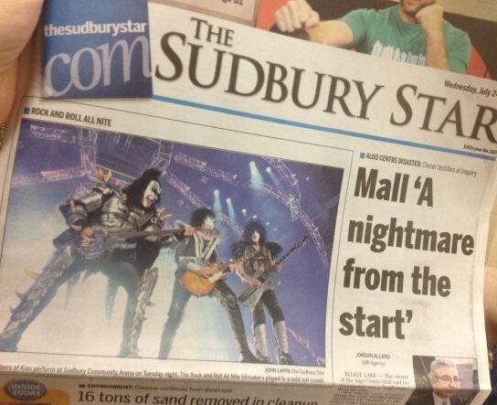 The Sudbury Star….