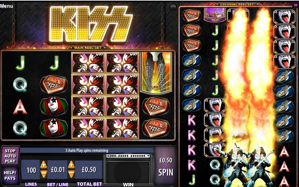 KISS Slot-machine artikel….