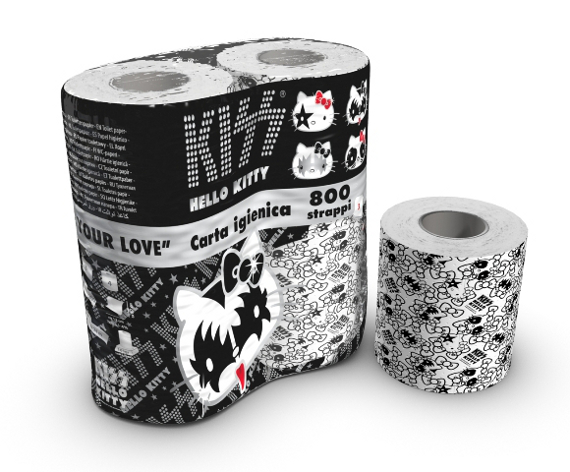 Hello Kitty KISS toapapper….