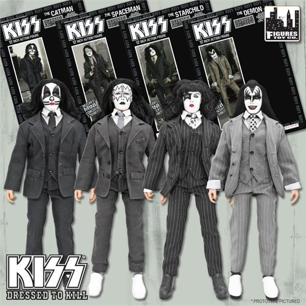Dressed To Kill Action Figures…