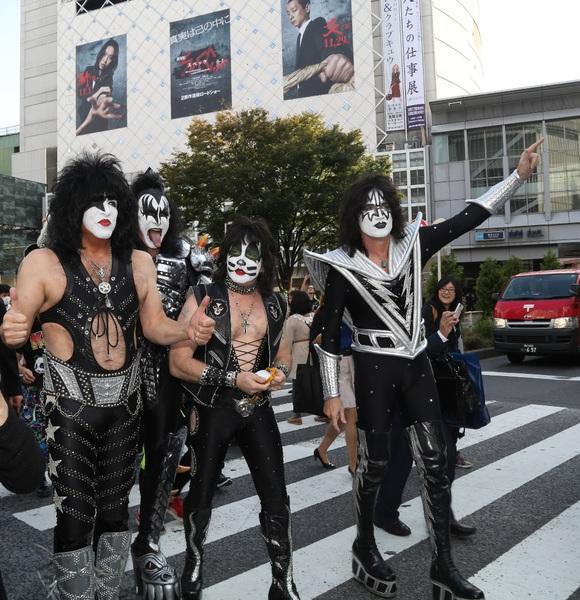 KISS i Japan