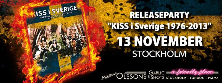 Releaseparty – Stockholm