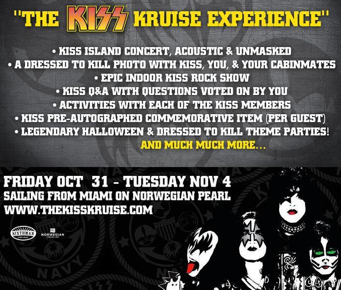 KISS Kruise biljetterna släpps imorgon….
