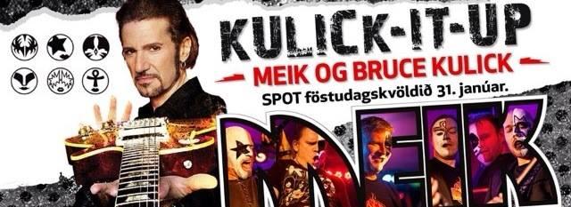 Bruce Kulick till Island….