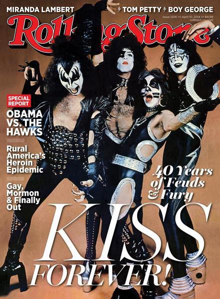 Första gången på Rolling Stone…