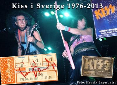 kiss i sverige - 1980
