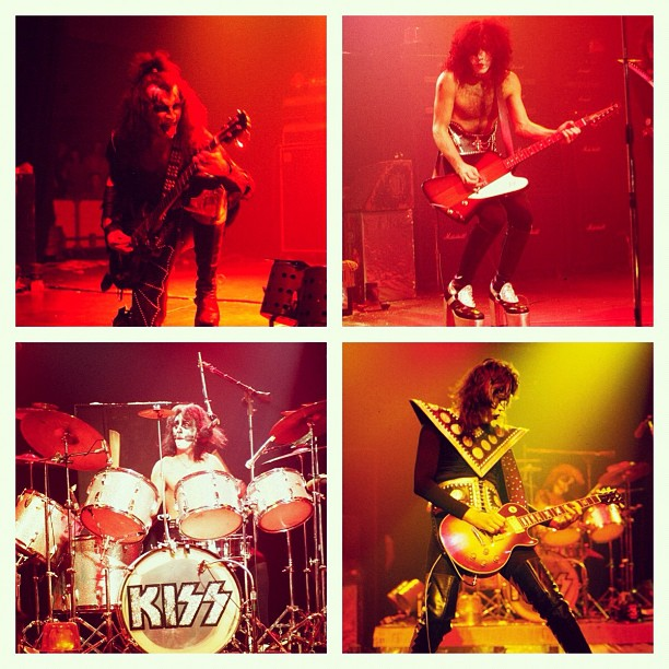 Kiss – Sabotage Tour 75/76 med BLACK SABBATH