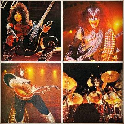 KISS and AC / DC IN 'ALIVE II TOUR' 1977-1978